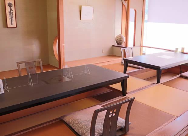 桟敷料理茶屋「花篝」